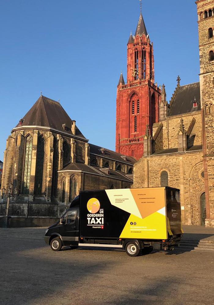 De Goederentaxi Maastricht