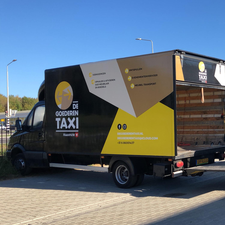 De Goederentaxi Maastricht - Vrachtwagen
